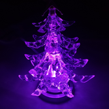 USB LED Christmas Tree when Purple