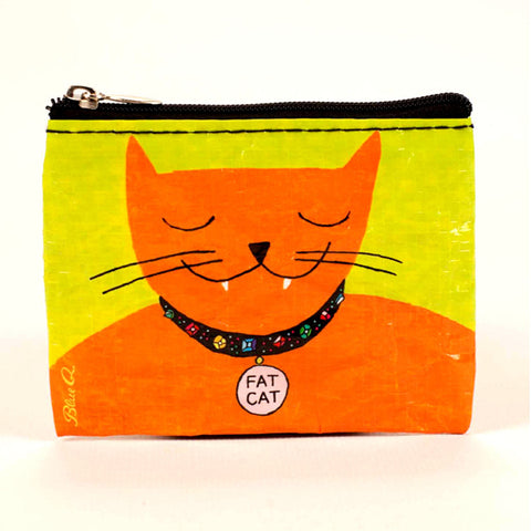 """Fat Cat"" Coin Purse"