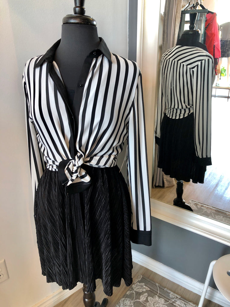 Gibson Latimer Striped Blouse