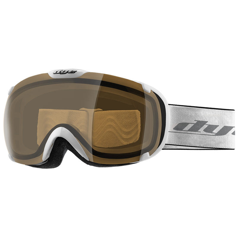 DYE Snow T1 Goggle | White with HD Lens
