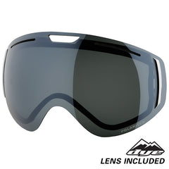 DYE Snow CLK Goggle | Red POLARIZED w/ 3x Lenses