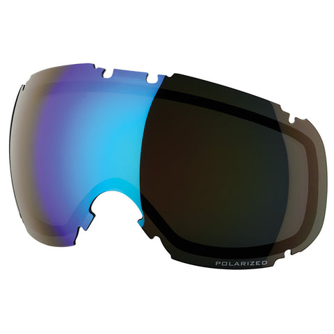 DYE Snow T1 Lens | Smoke Blue Ice Polarized