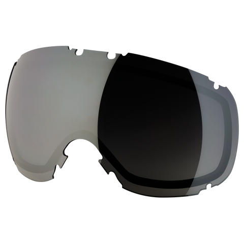 DYE Snow T1 Lens | Faded Smoke Silver