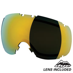 DYE Snow T1 Goggle | Sirmiq Magenta w/ Northern Lights Lens