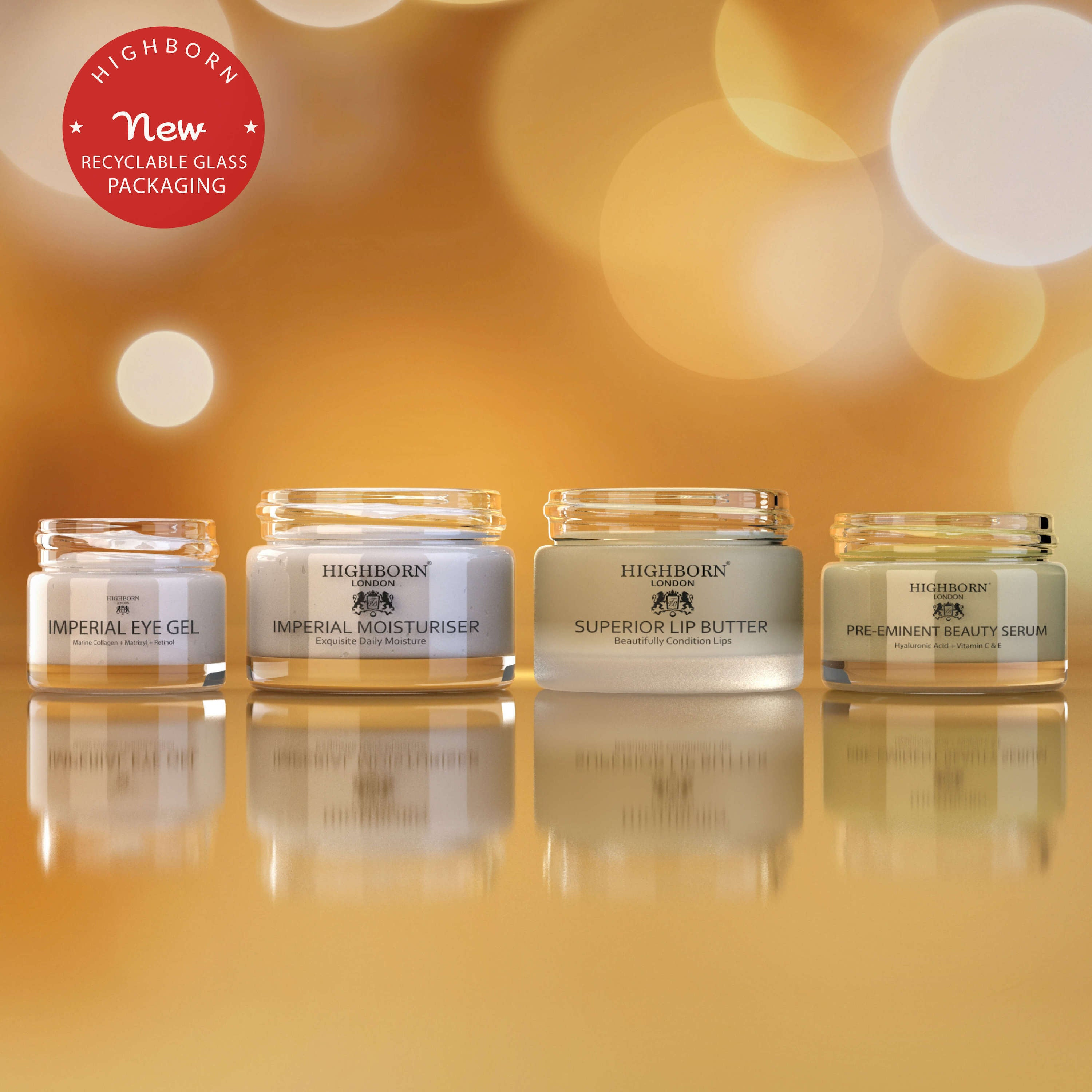 Four Phase Face and Lip Care Collection