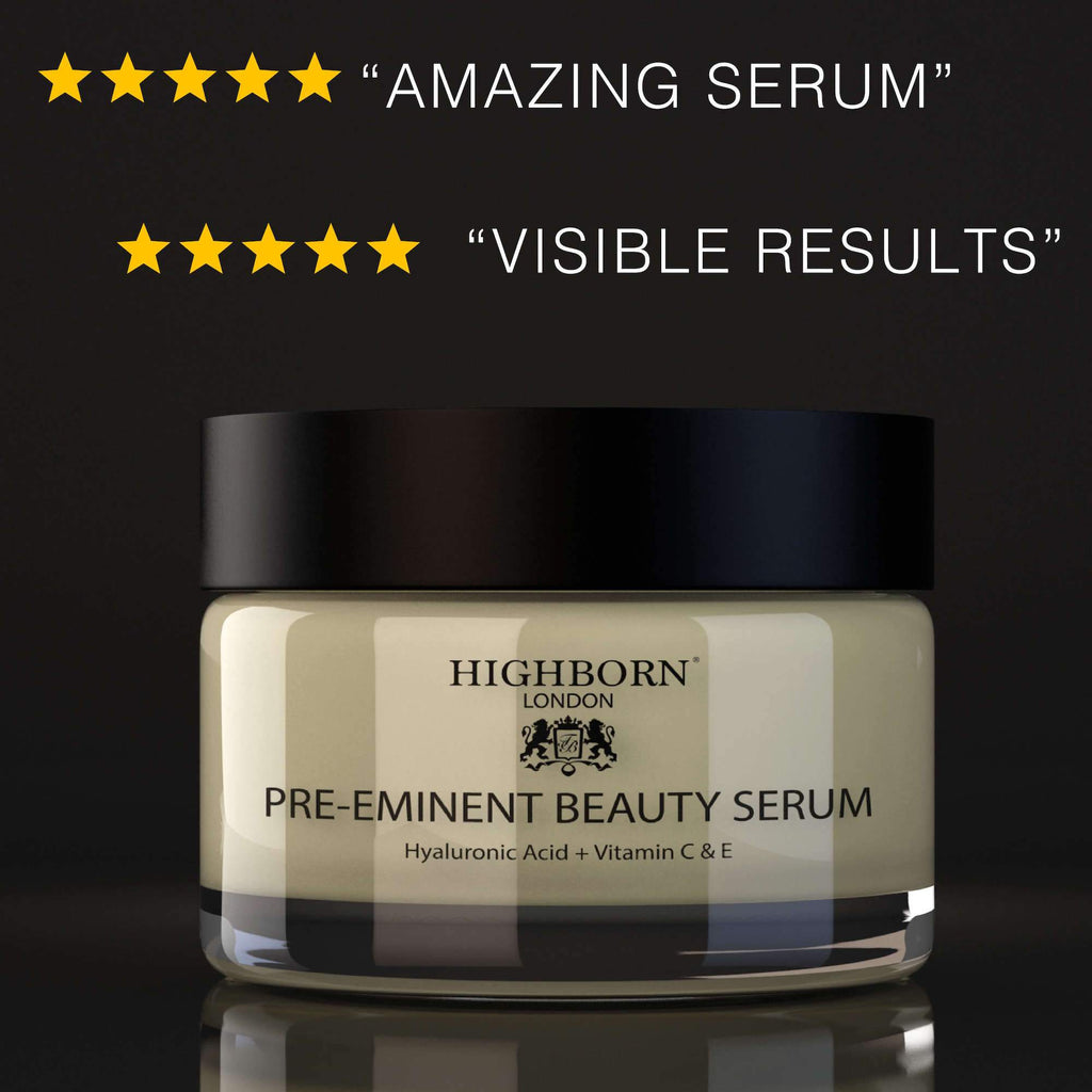 Pre-Eminent Beauty Serum Skincare Highborn London