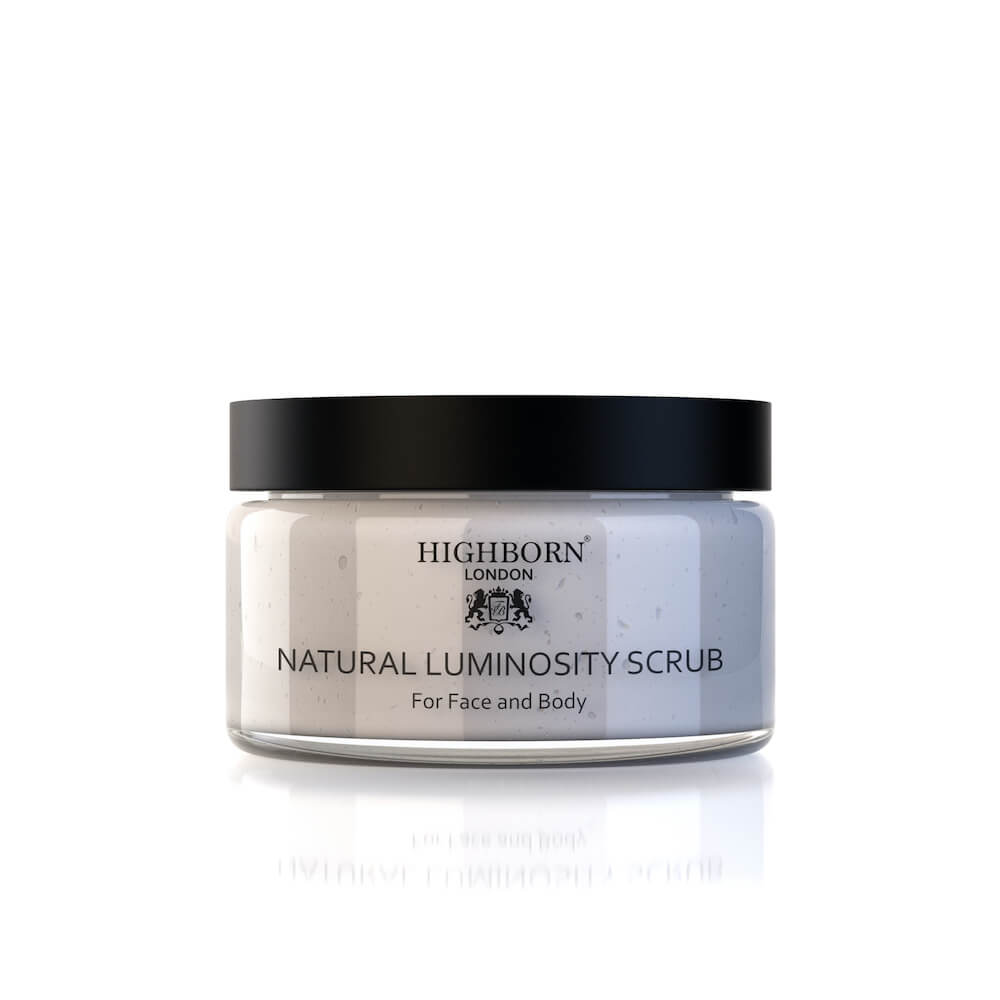 Natural Luminosity Scrub (220ml) - Highborn London
