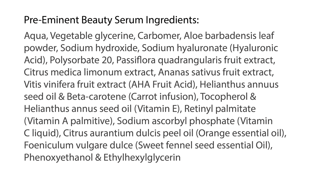 Pre-Eminent Beauty Serum - Highborn London