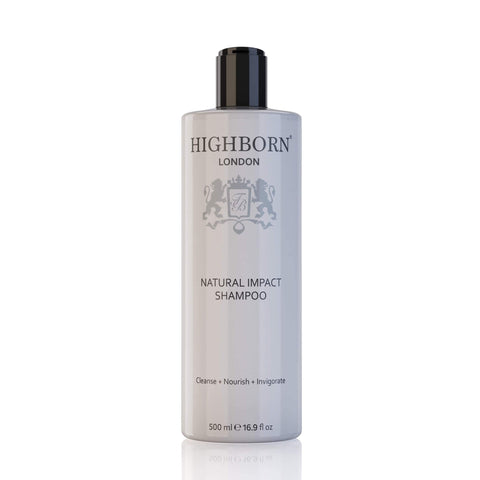 Natural Impact Shampoo (500ml) - Highborn London