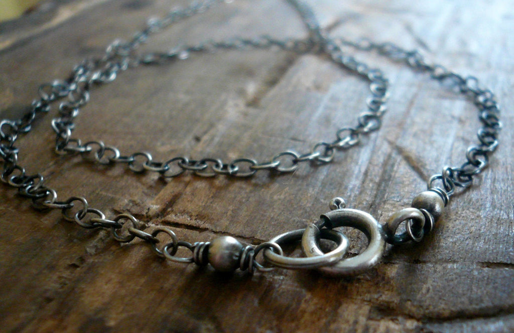 Necklace Design Your Own Series -  Sterling Silver Cable Chain