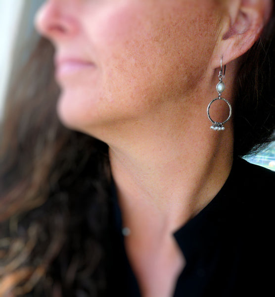 Twinkle 14kt Rose Goldfill Earwires - Handmade. Handforged