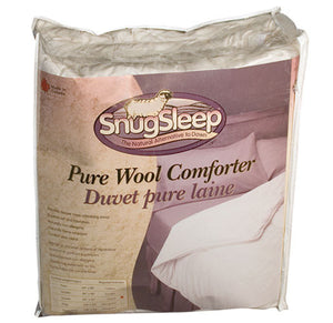 Wool Duvets with Natural Cotton Shell