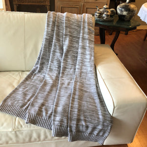 Graded Organic Cotton Throw