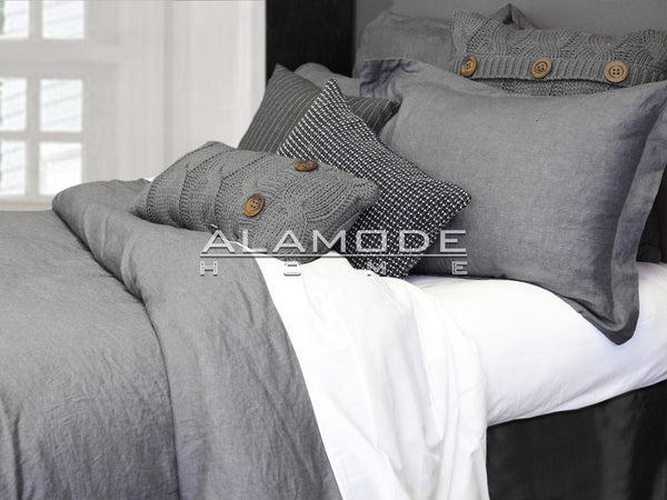 Morgan 100% Washed Linen by Alamode