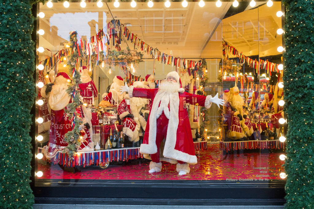 Selfridges Christmas windows 2017