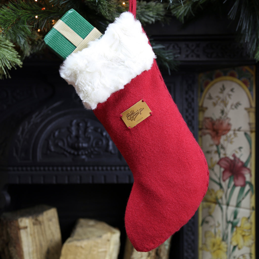 Luxury small stocking perfect for corporate clients and Christmas parties