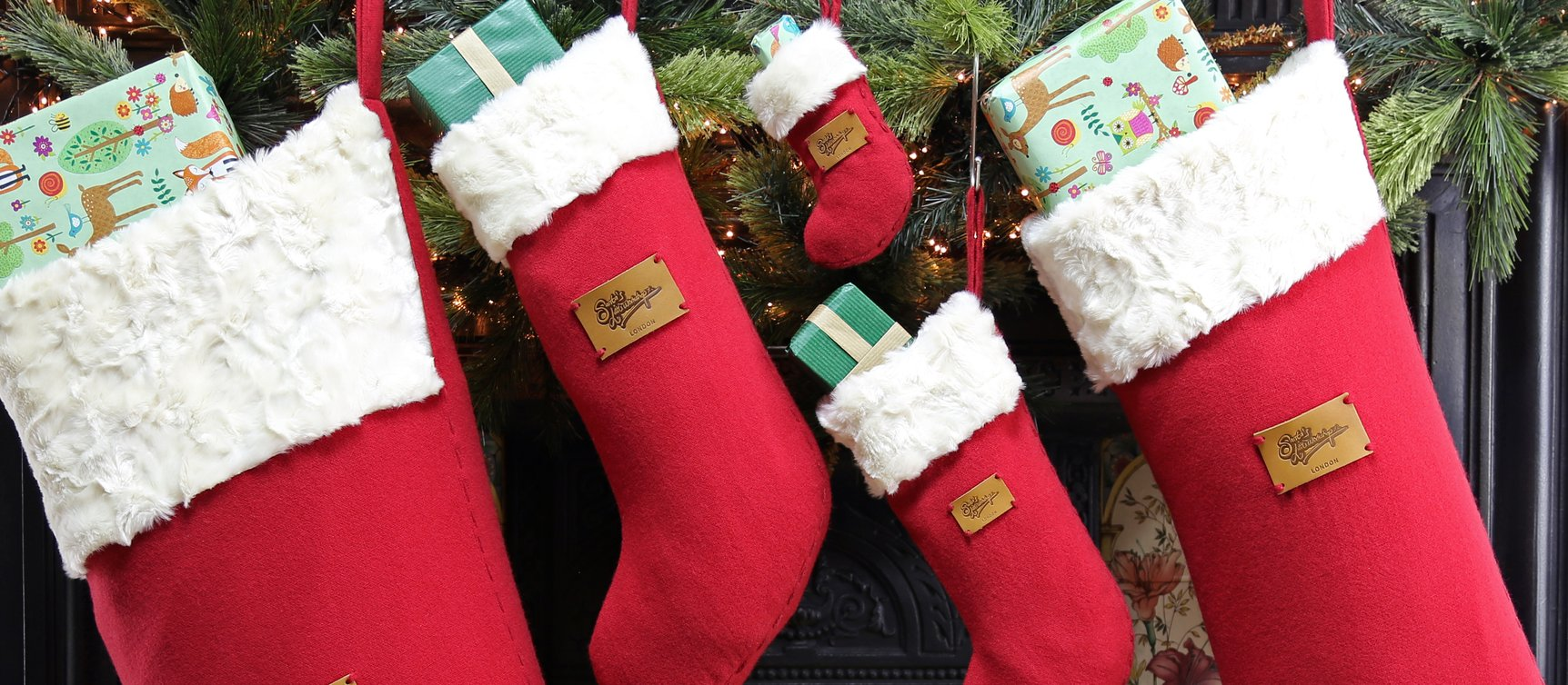 High quality Personalised Christmas stockings