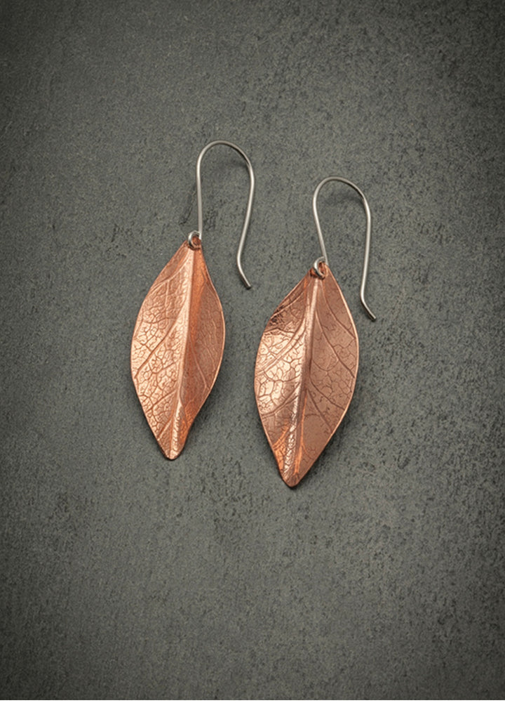 Zula Autumn Leaf Earrings Lg