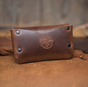 Populess Leather Wallet  -  The Porter