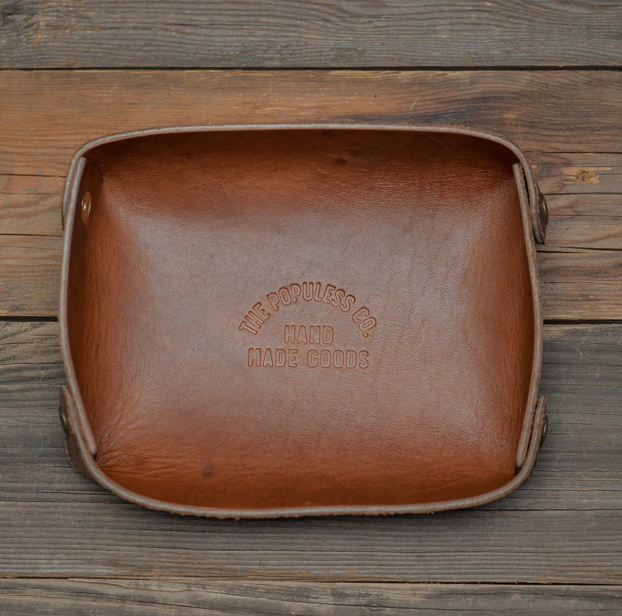 Populess Leather  - The Bowl