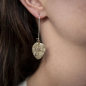 Kat Cadegan Oregano Long Drop Earrings