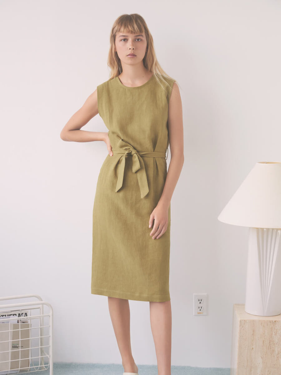Eve Gravel Paloma Dress