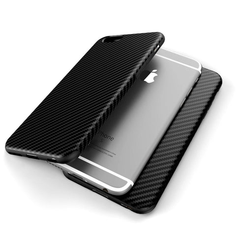 Carbon Fiber Pattern Case For iPhone