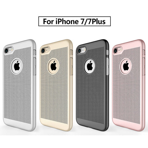 Hybrid Slim Matte Radiating Hard Case For iPhone
