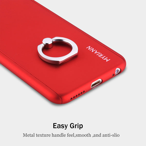 Myriann Case With Tempered Glass Screen For iPhone