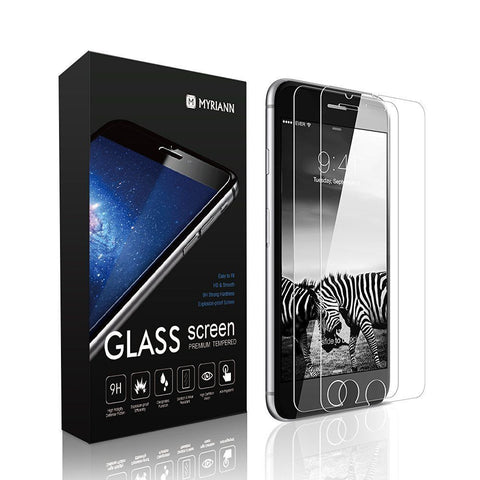 Tempered Glass Protective Screen Protector Film For iPhone (2pcs)