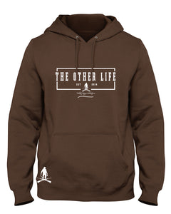 The Other Life Brown Hoodie/ Rectangle