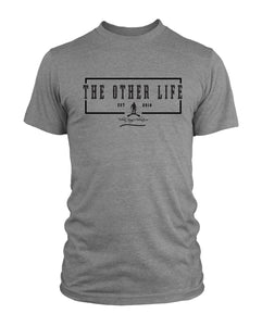 The Other Life Grey T-shirt/ Rectangle
