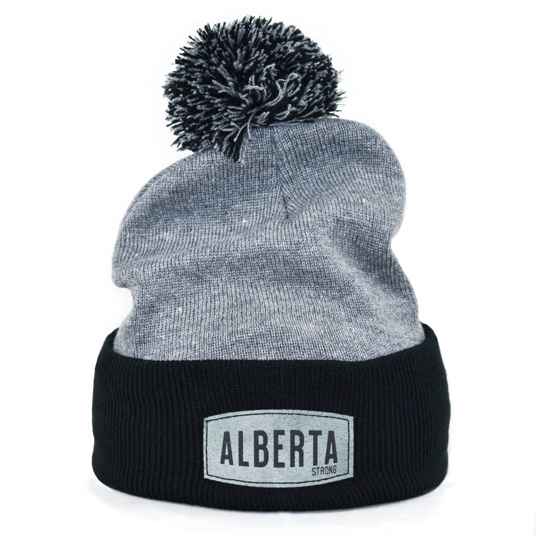 Black / Heather Grey Toque