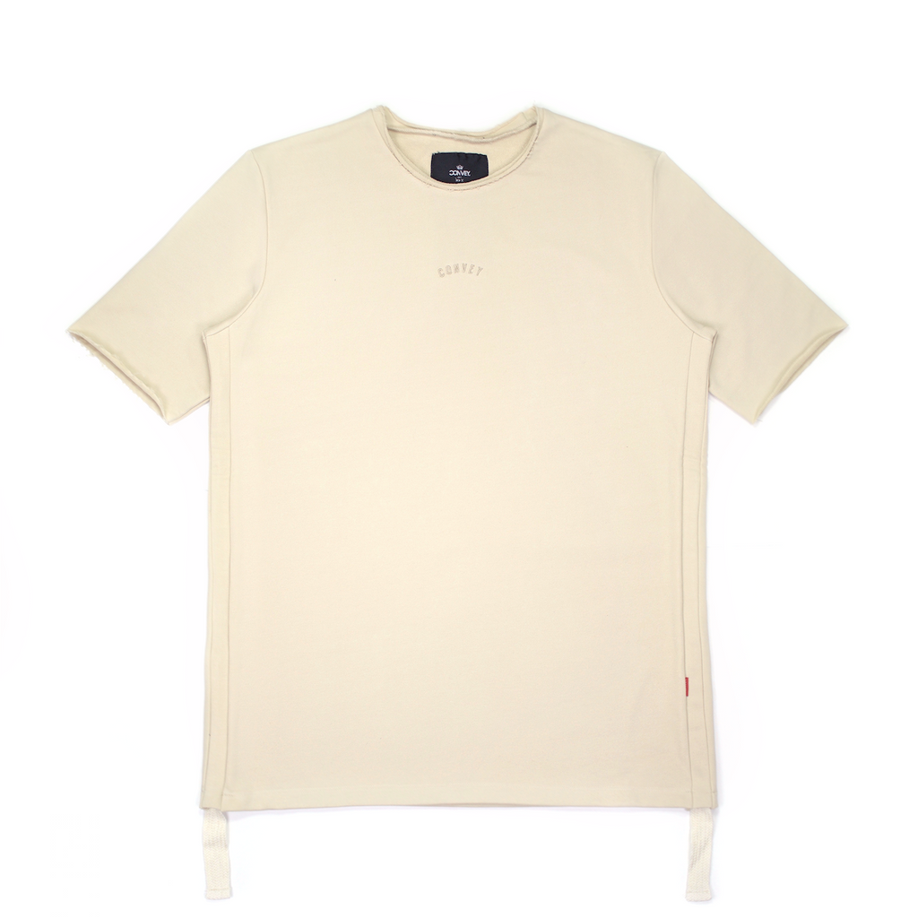 Convey Raw-Edge Side Drawstring Tee