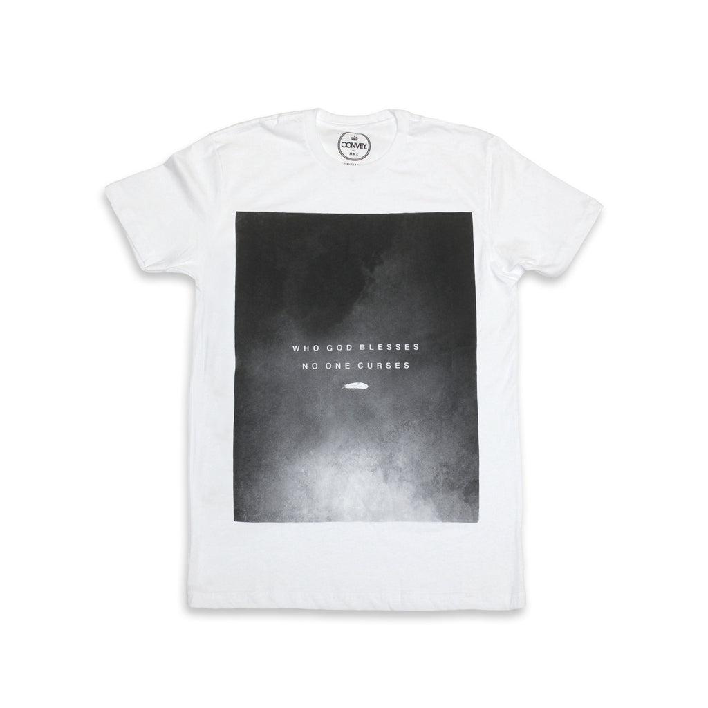 "Convey ""GOD BLESSES"" Graphic Tee"