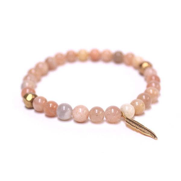 """Unbroken"" Natural Tan Bracelet"
