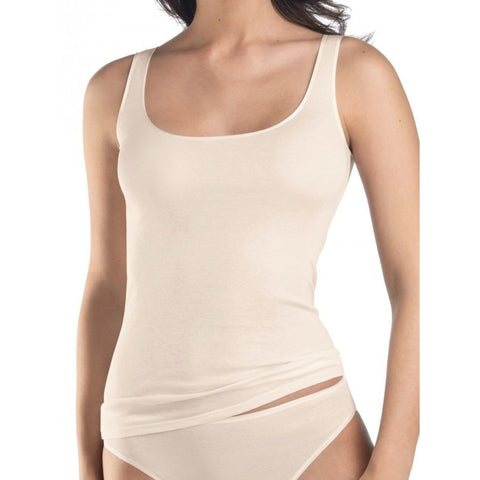 Hanro 071604 Seamless Camisole Pale Cream