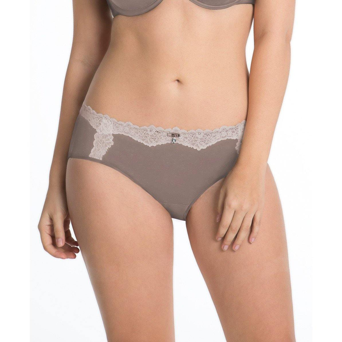 Curvy Couture Luxe Hipster Panty 1011