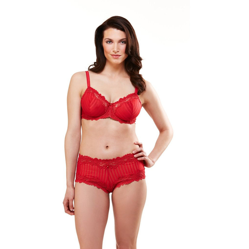 Lunaire Whimsy 15211 Red Stripe Bra