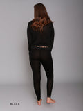 Linda Hartman Silk Warm Wear Leggings Reg. 145