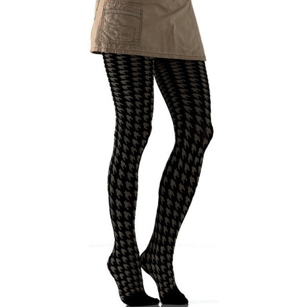 Foot Traffic 941 Houndstooth Tights