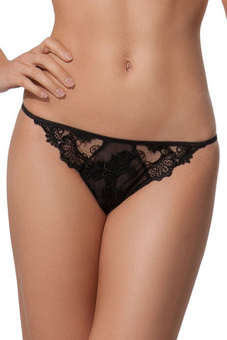 Lise Charmel Dressing Floral Sexy Thong ACC5088 Black