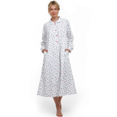 Lanz of Salzburg CL5616824 Flannel Nightgown Rosebud