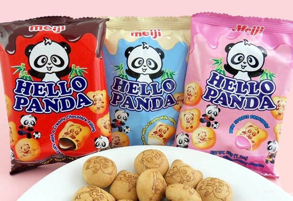 Hello Panda Filled Biscuits