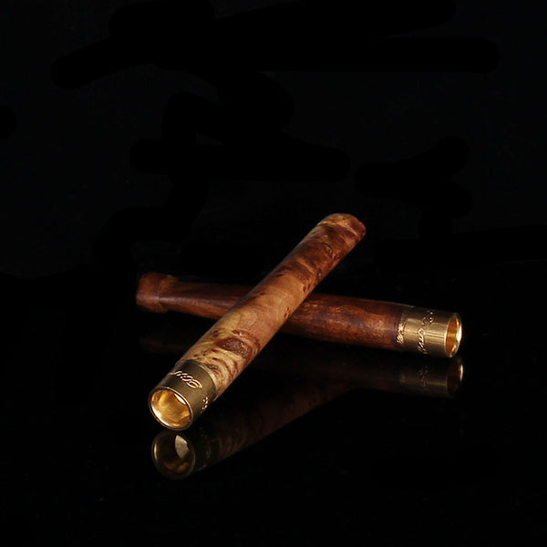 Natural Wood Grain Joint or Blunt Holder