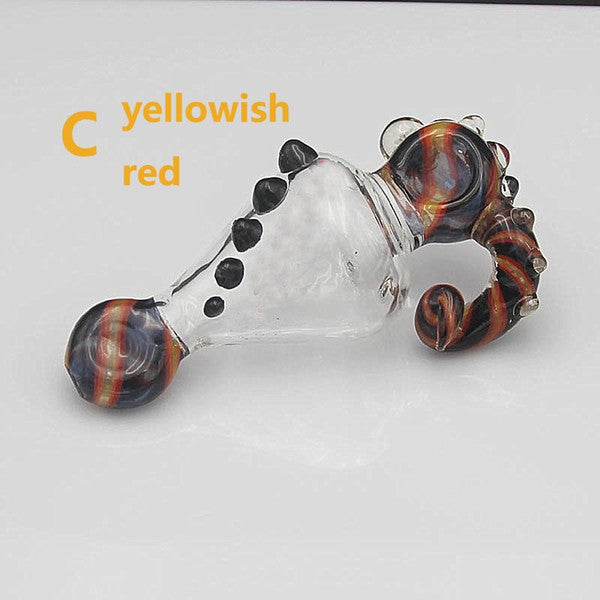 Big Lobster Glass Pipe 15cm Length