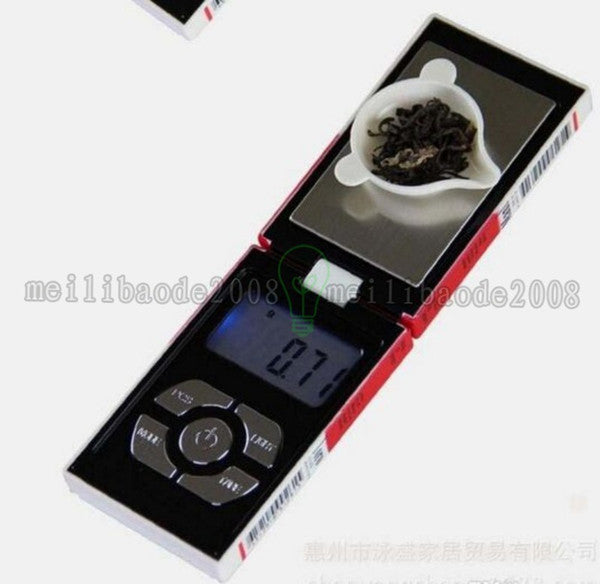 2017 NEW (With or Without Batteries) 100g x 0.01g Digital Pocket Scale Balance Weight Jewelry Scales Case scales MYY