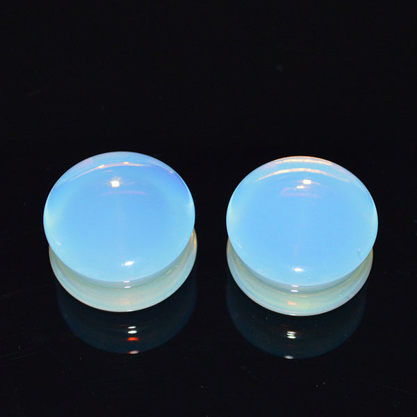Organic Stone Gauges 5mm-25mm Opal