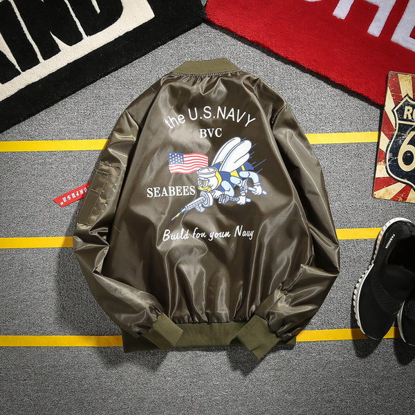 Patriotic WW2 Style Bomber Jackets