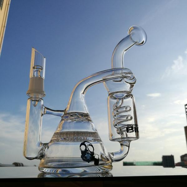 Water Slide Dab Rig Honeycomb 14.4mm